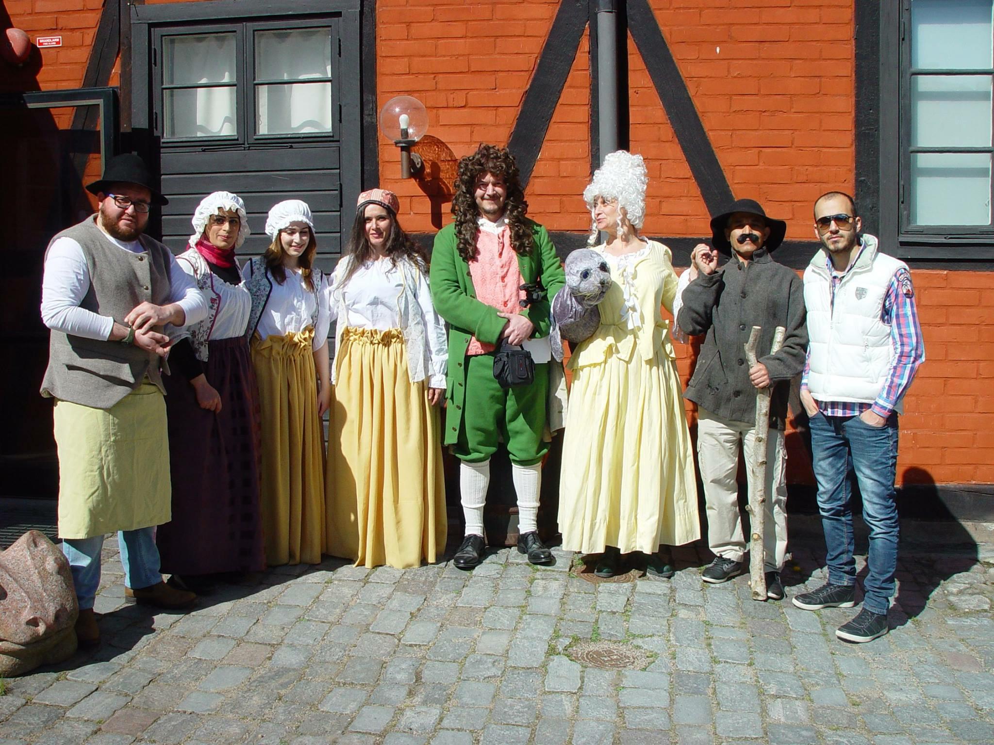 Teaterföreställningar – följ Utis & Paddis resa tillbaka till 1700-talet